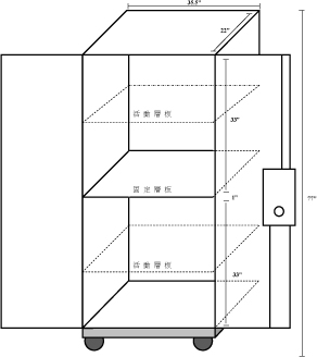 Safety Cabinet Real Volumn